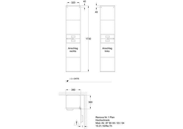 Renova Nr1 Plan Hochschrank Ihr Sanitärinstallateur Aus Münster
